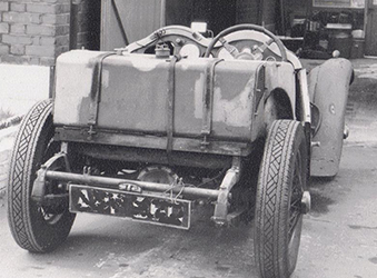 Photo of Singer Car ready for restoration